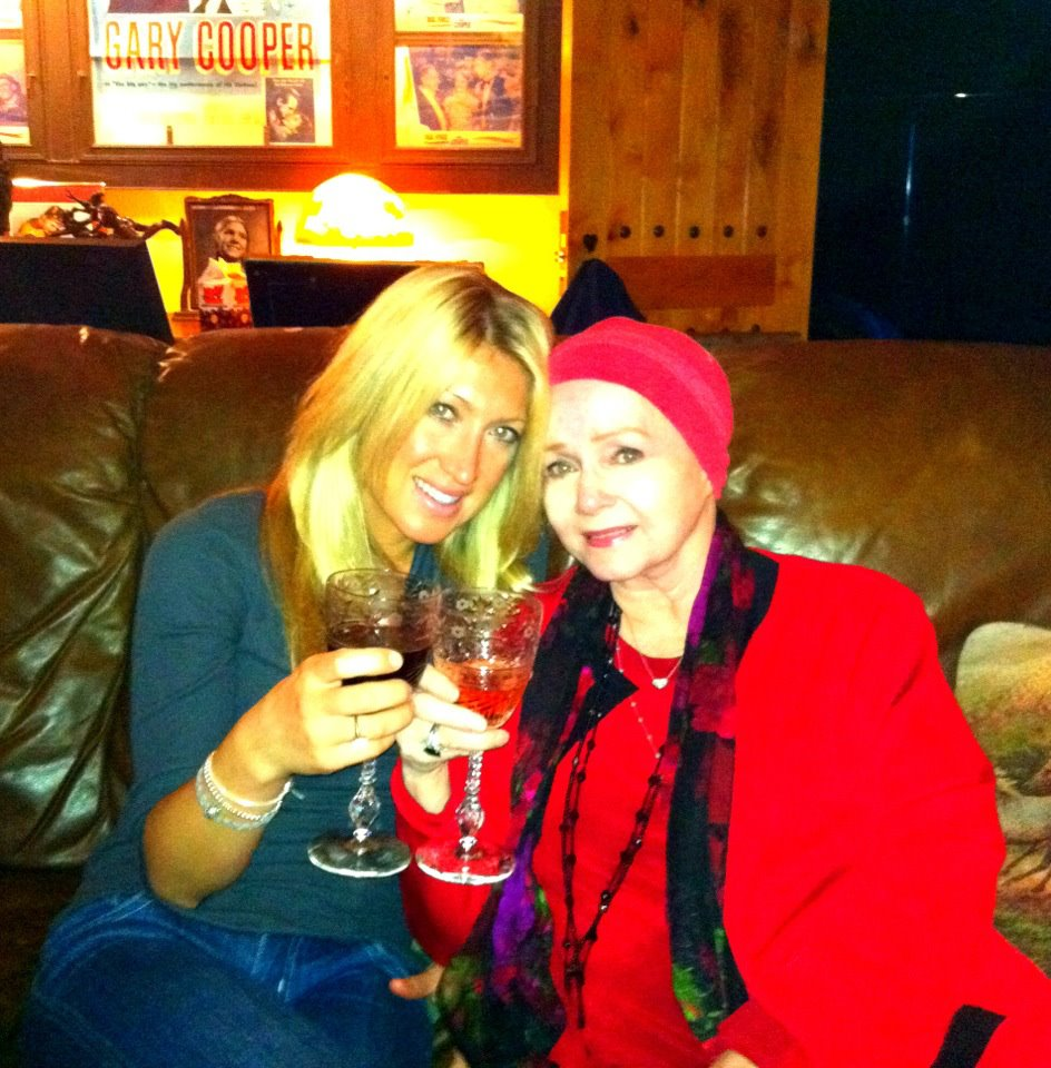 Cheers my amazing Grandma Debbie Reynolds, her dream of sharing her Hollywood Collection with her fans! What an amazing women!