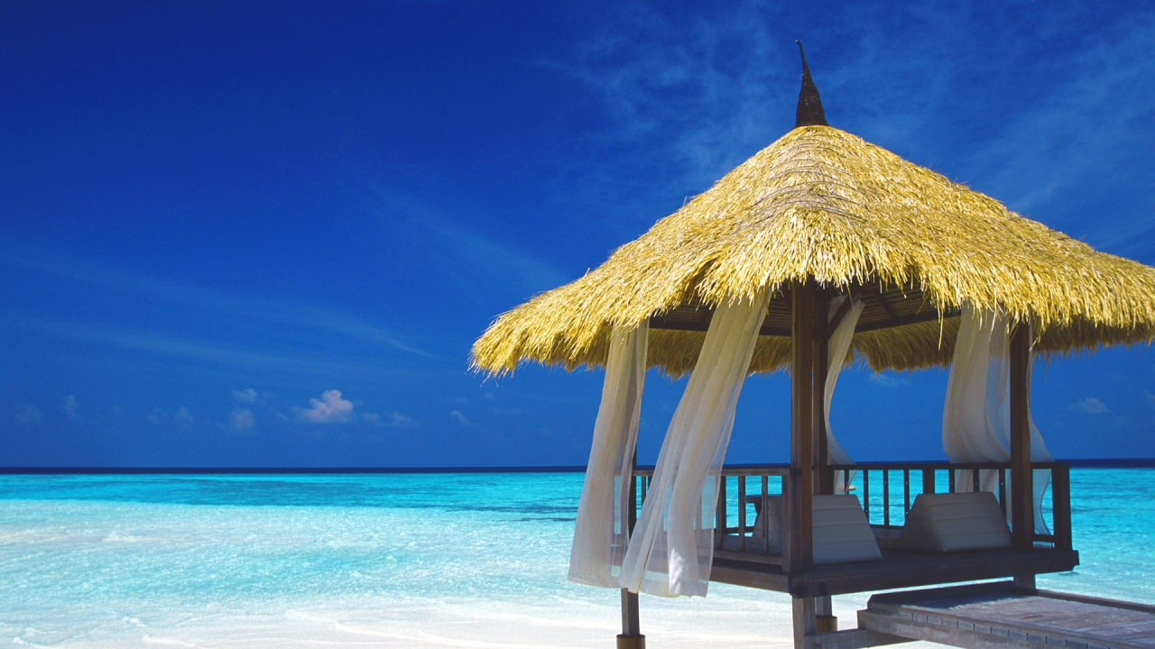 Luxury hotels of maldives glitter mud for Best house wallpaper