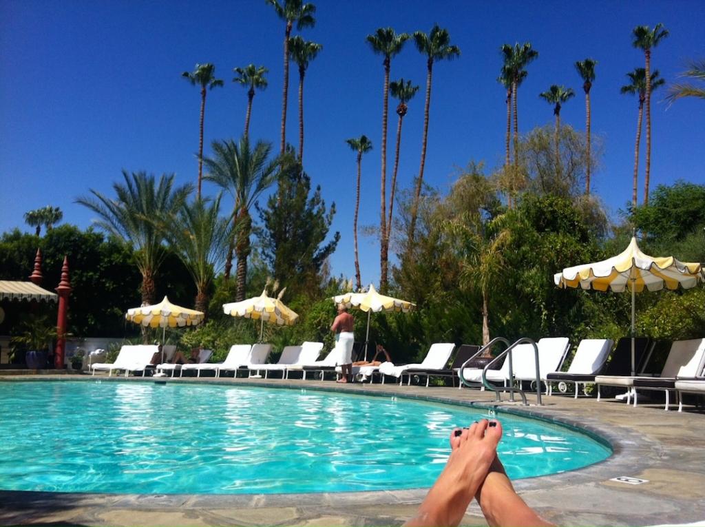 Debbie Reynolds Loves The Parker Palm Springs Glitter Amp Mud