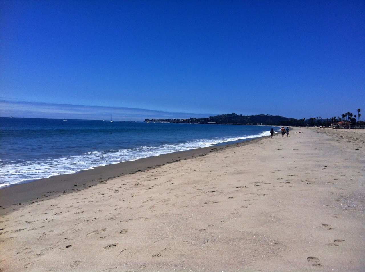 View looking back at SB from East Beach. Fave spot along my run!