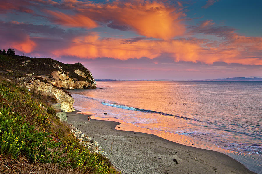 Sunset over Avila Beach- We are blessed to live in a world where places like this exist!