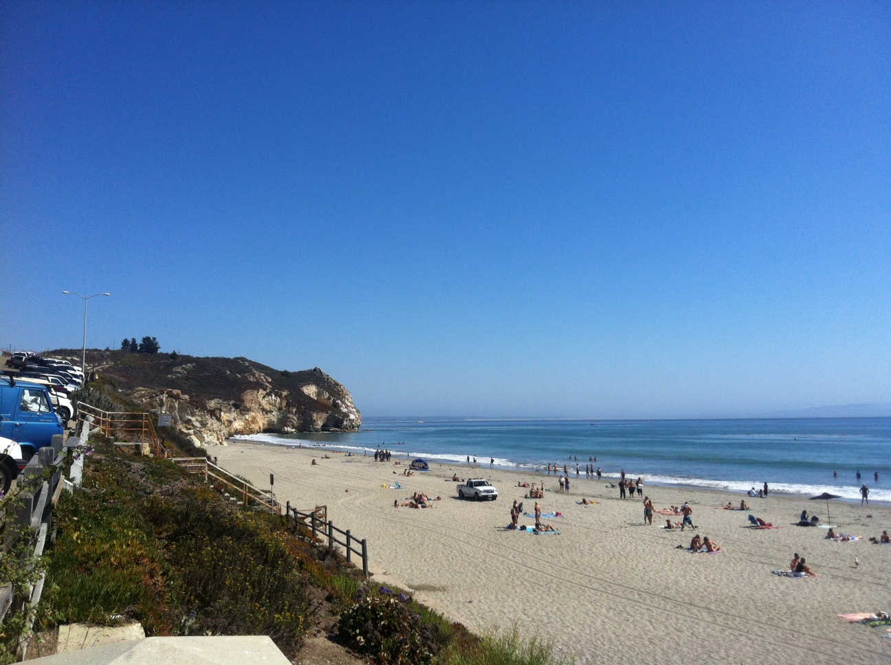 Avila has one of the most beautiful beaches in California....