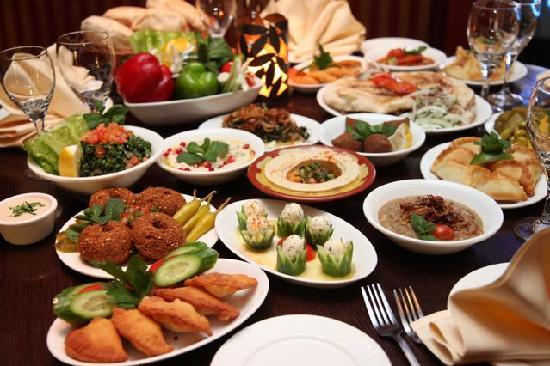 La Vie Lebanese Restaurant Lunch Menu