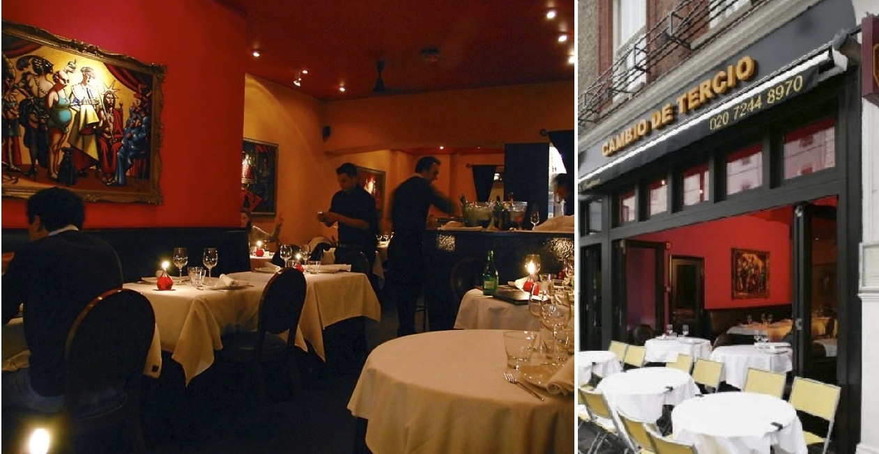 Cambio De Tercio, across the street, has all the same amazing tapas and more + main courses & great vegetarian options