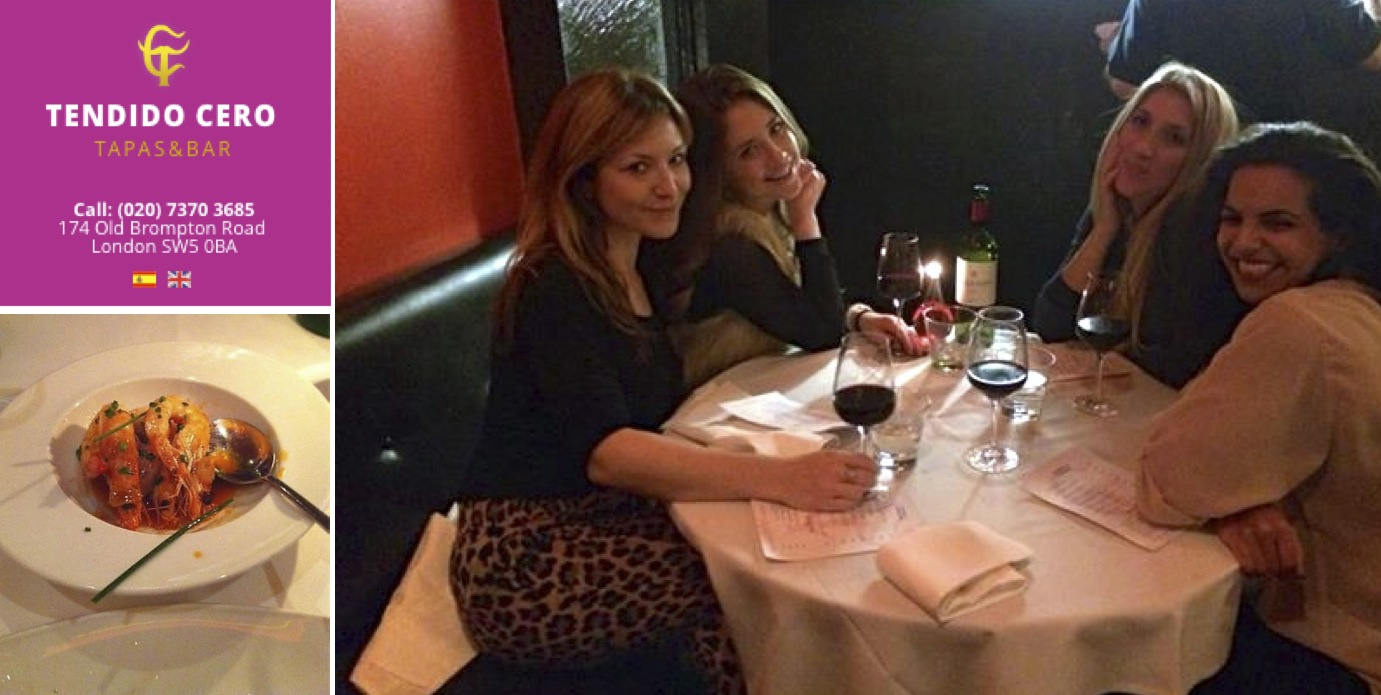 Tapas and wine with the girls at one of my favorite places in South Ken!