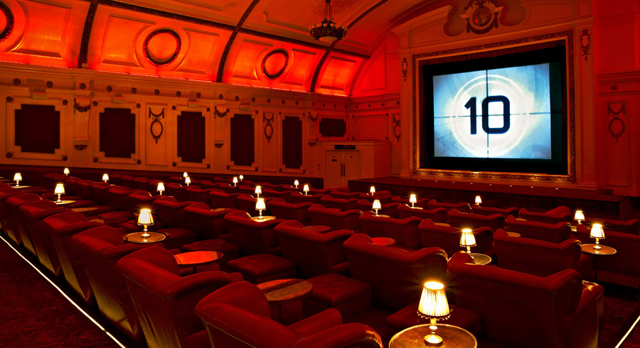 Last Minute Gift Idea Luxury Movie Theatre Electric