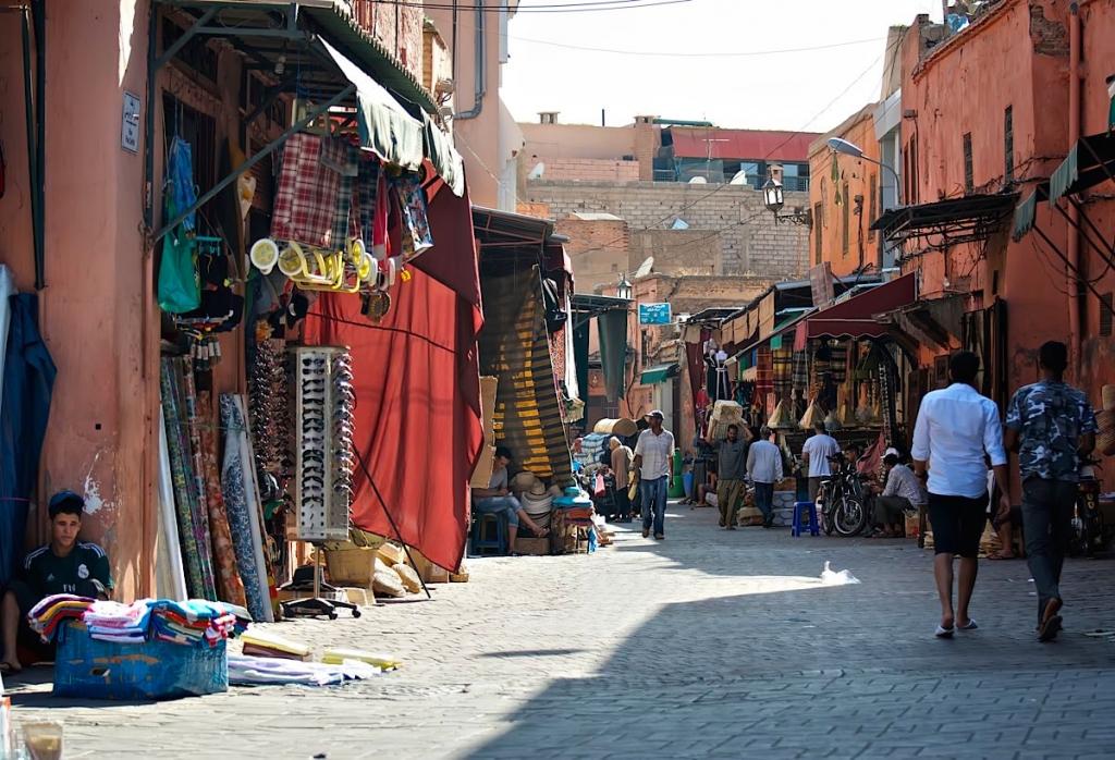 Marrakech-Morocco-Streets