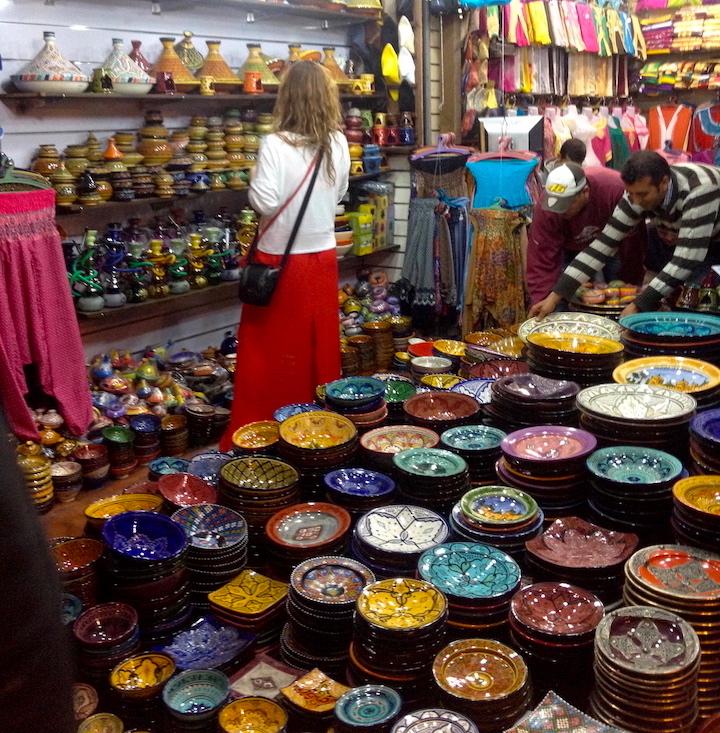 Marrakech-Souk-shopping