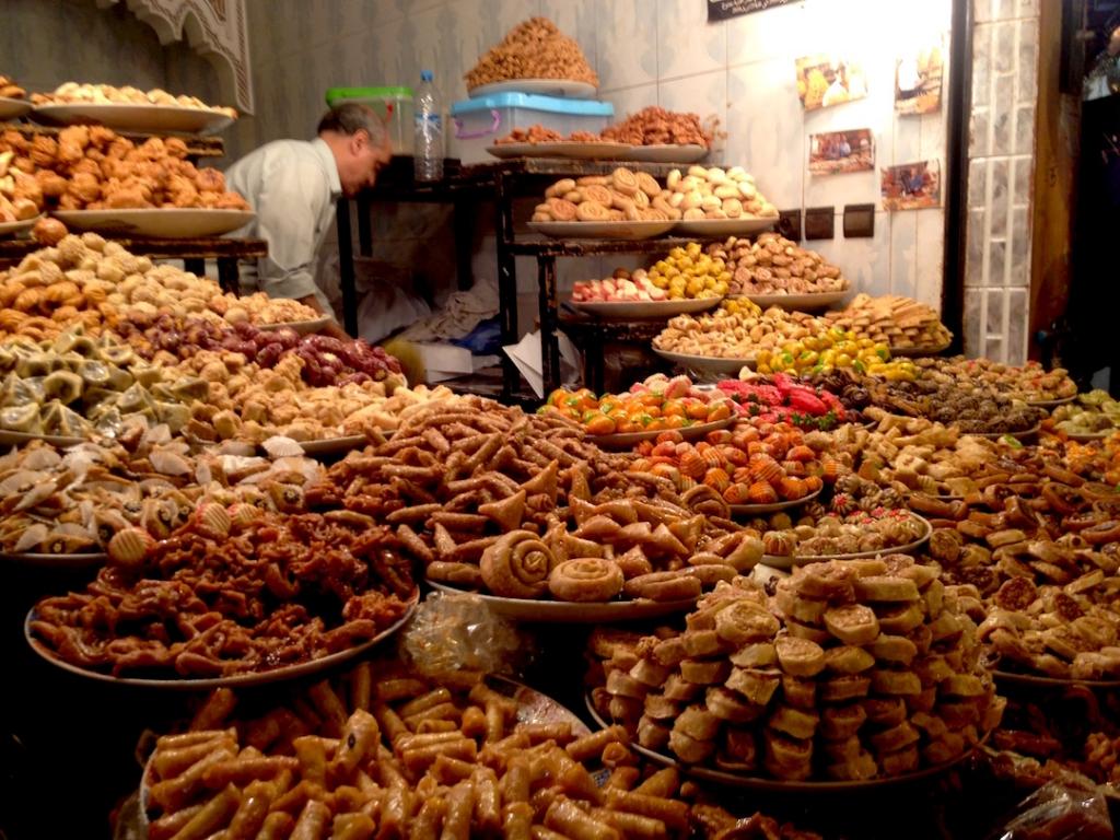 Marrakech-Souk- sweets