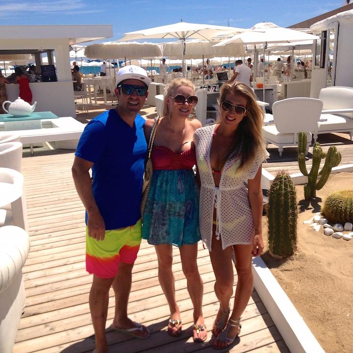 Les Palmiers Beach Club St Tropez