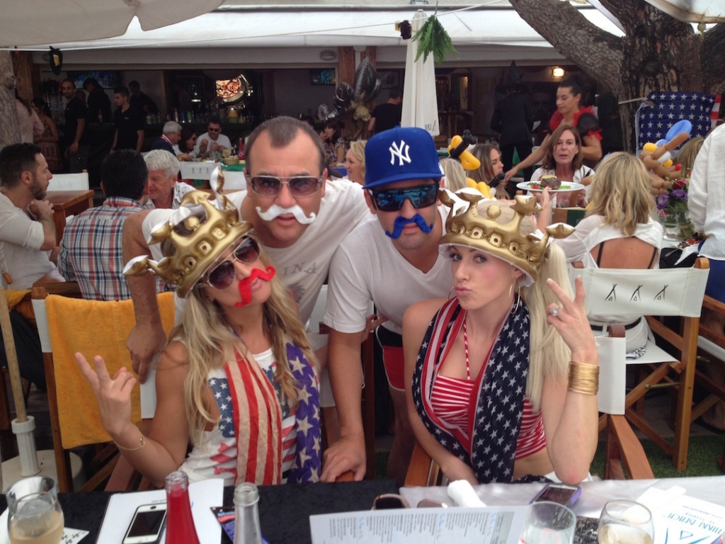 Nikki Beach St Tropez , 4th of July
