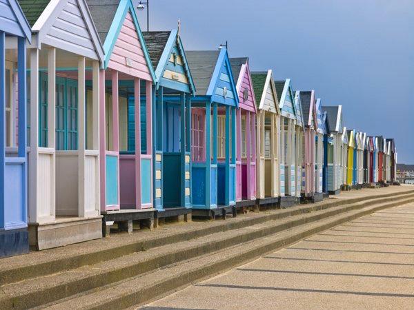 beach huts sandbanks