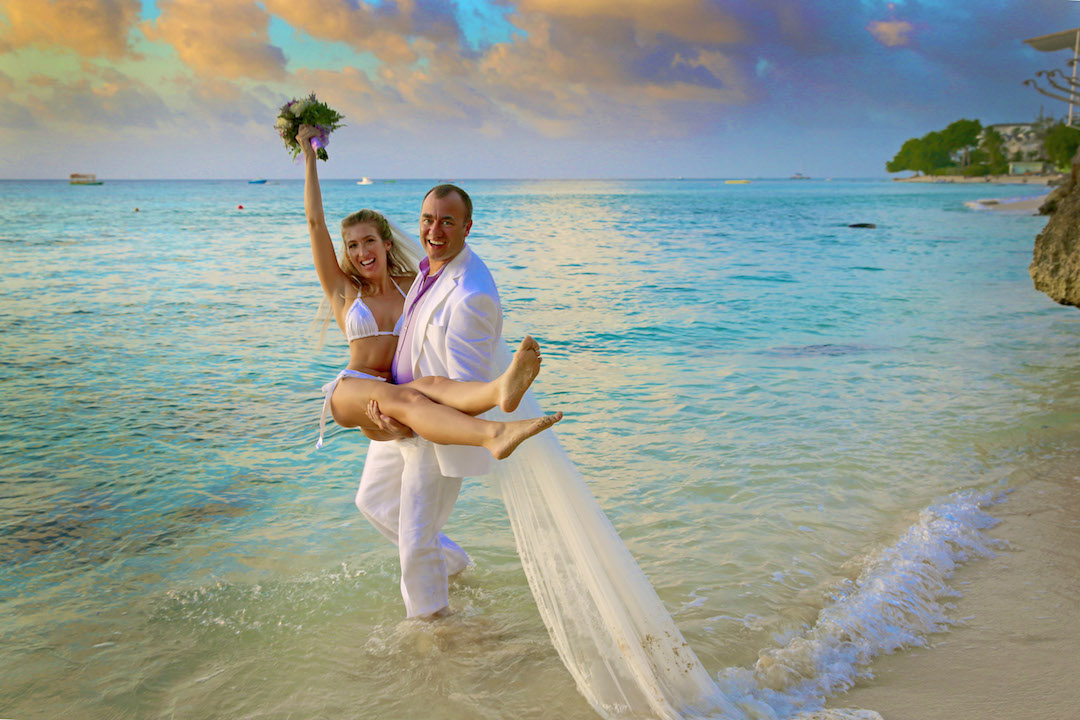 Beach Wedding- Style-Barbados