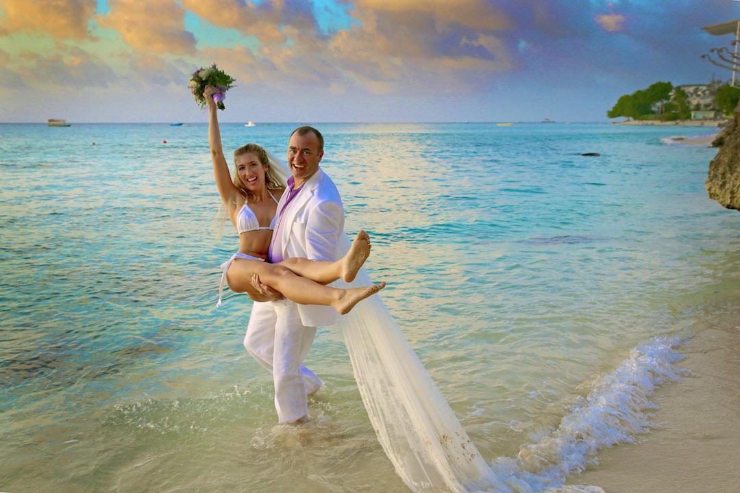 Style Inspiration Barbados Beach Wedding