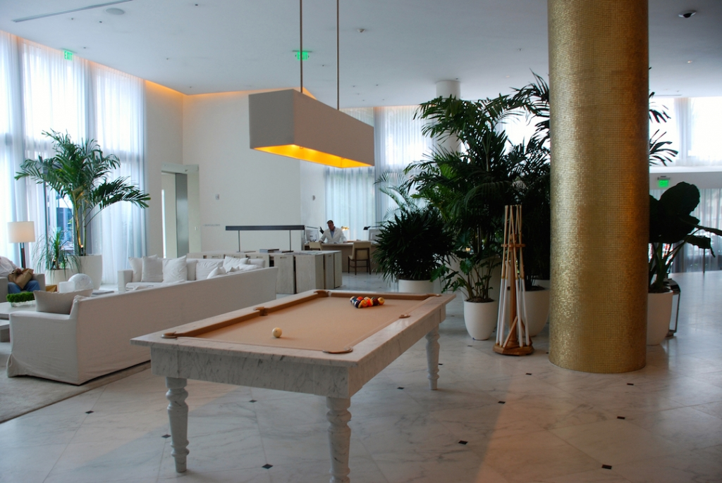 Miami Beach Edition lobby