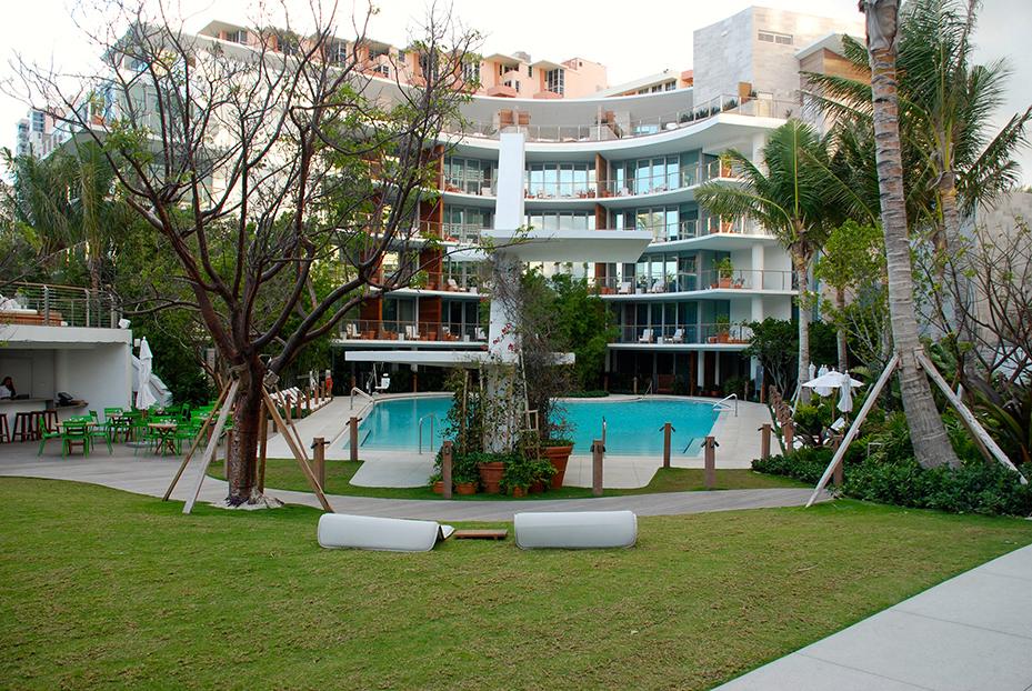 Bungalow Miami miami edition the it south hotel glitter mud