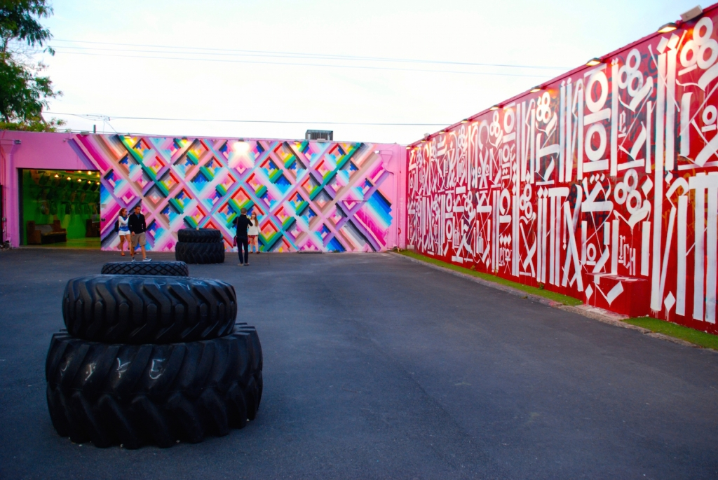 Peter Tunney Experience At Wynwood Walls Glitter Amp Mud