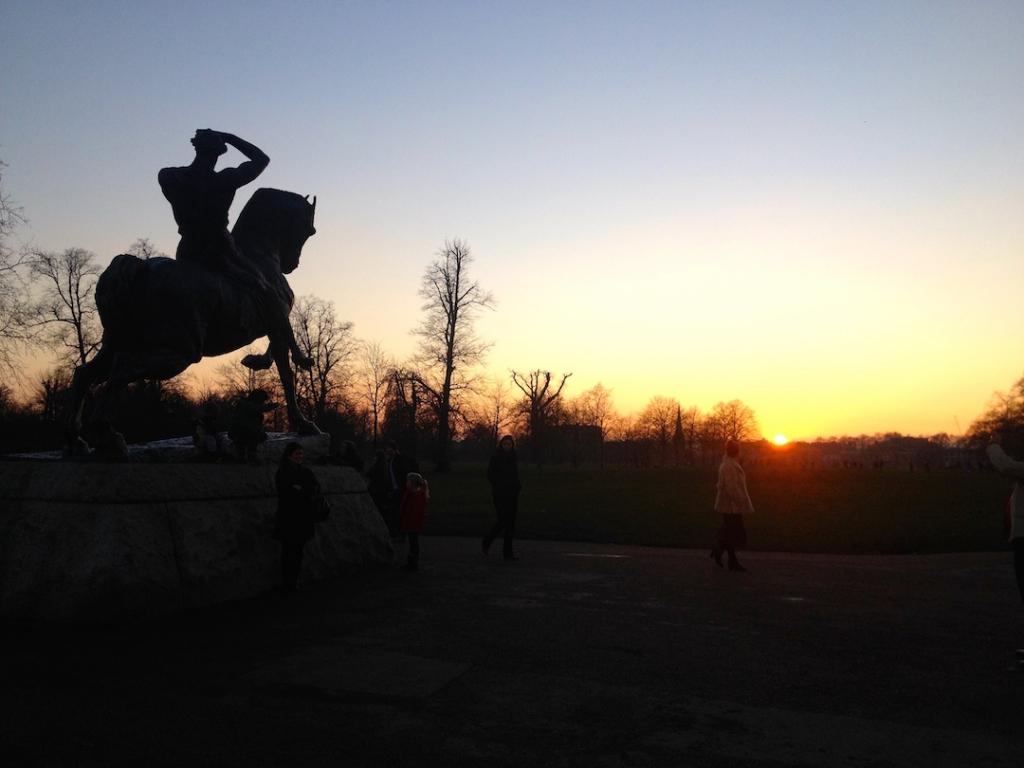 Hyde-Park-Sunset