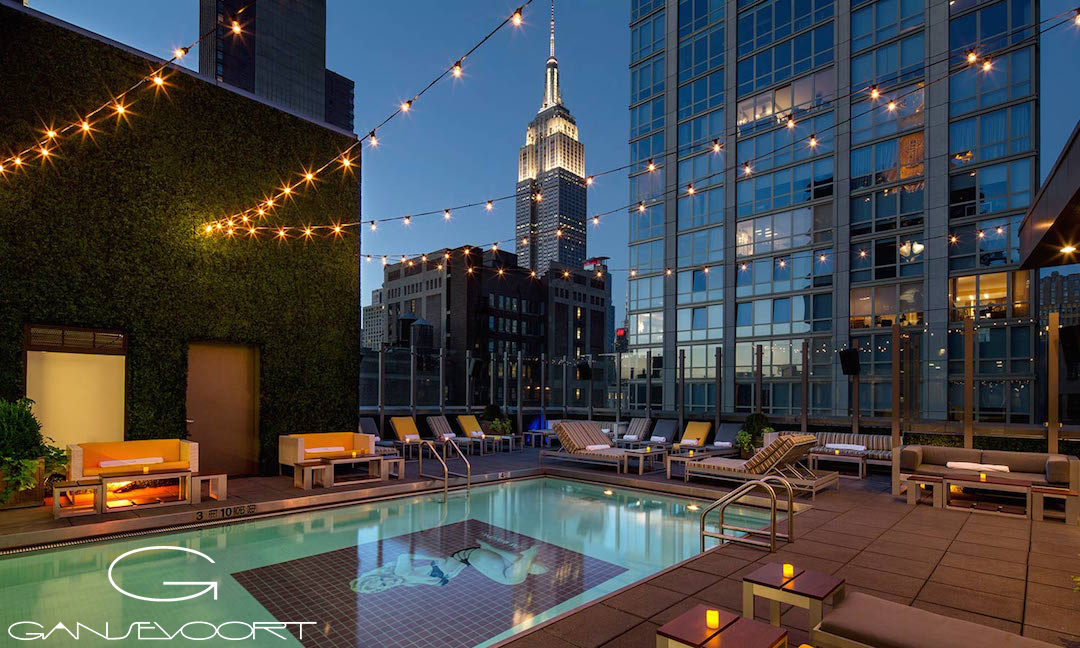 Gansevoort-Park-Rooftop-Pool-Night