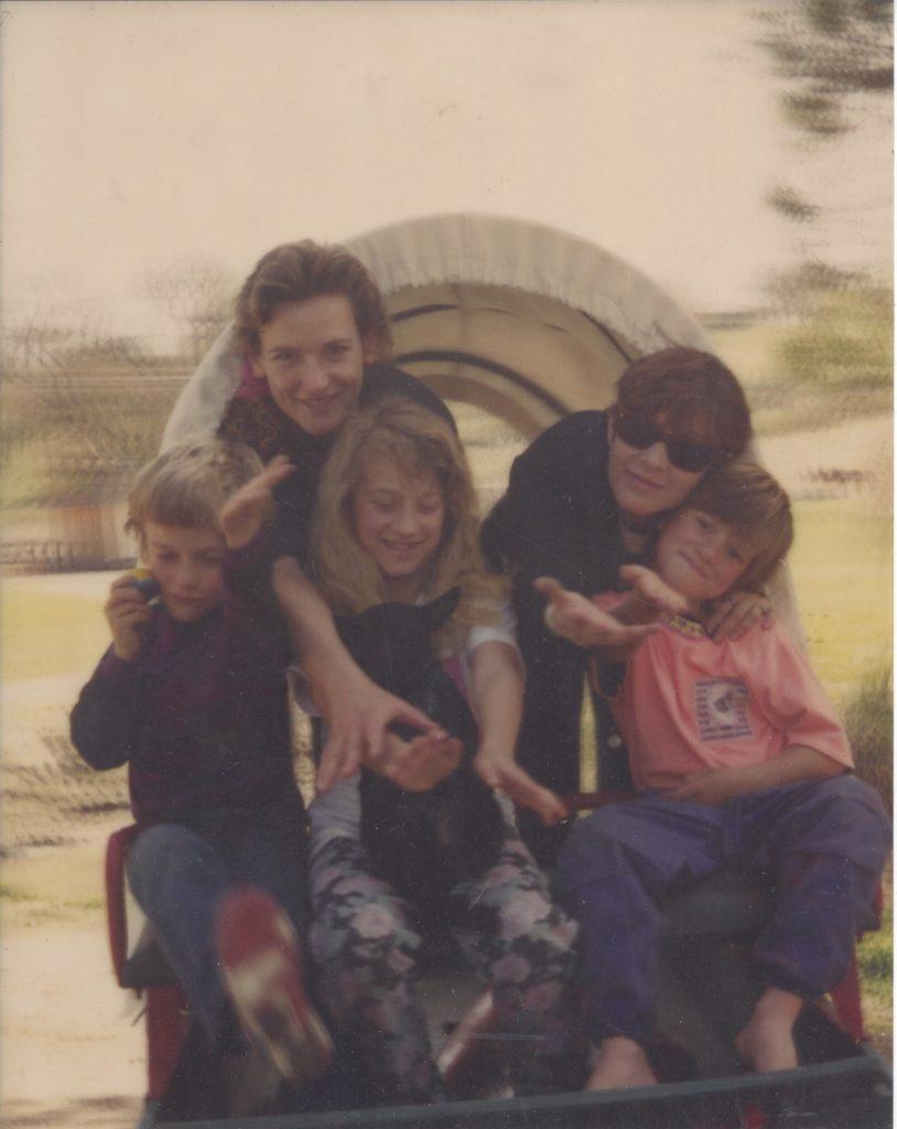 Carrie Fisher, Christi Zabel, Vanessa Rivers