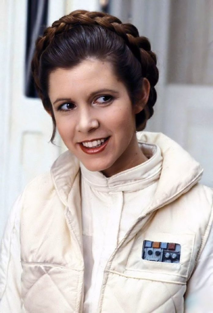 Carrie Fisher in Star Wars