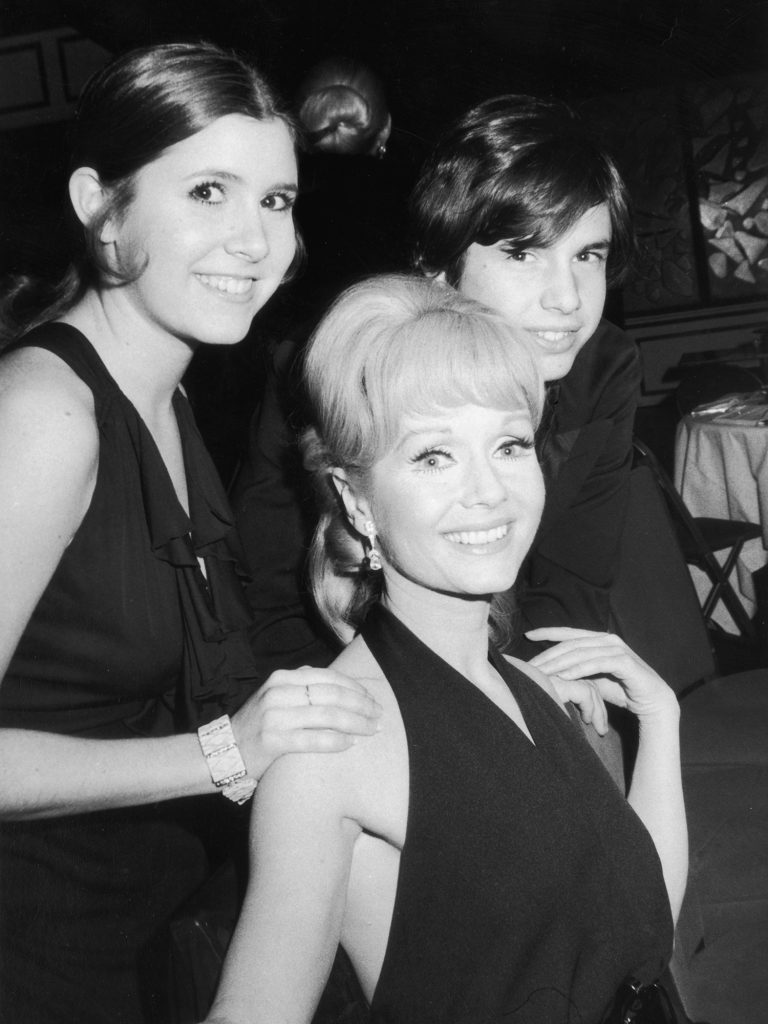 Carrie Fisher, Todd Fisher, Debbie Reynolds