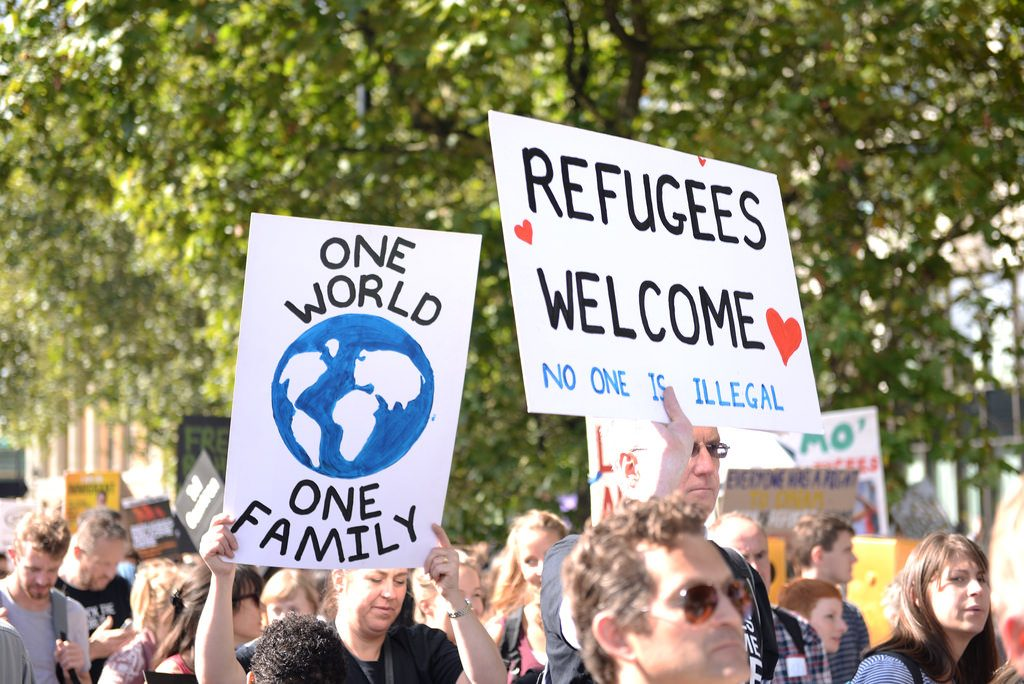 AMERICANS AGAINST THE BAN ON REFUGEES & MUSLIMS