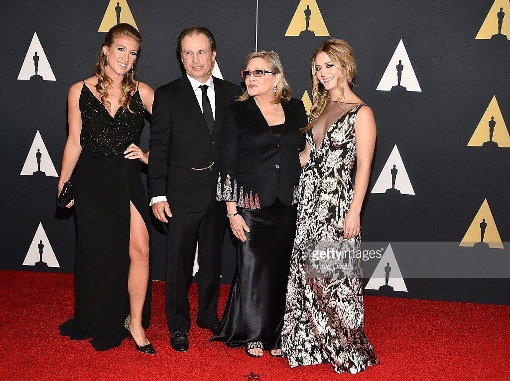 Arrivals - Carrie Fisher, Todd Fisher, Bilie Lourd, Vanessa Rivers