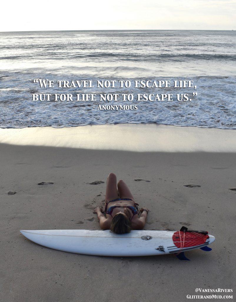 Travel Quotes (Bikini Photos)