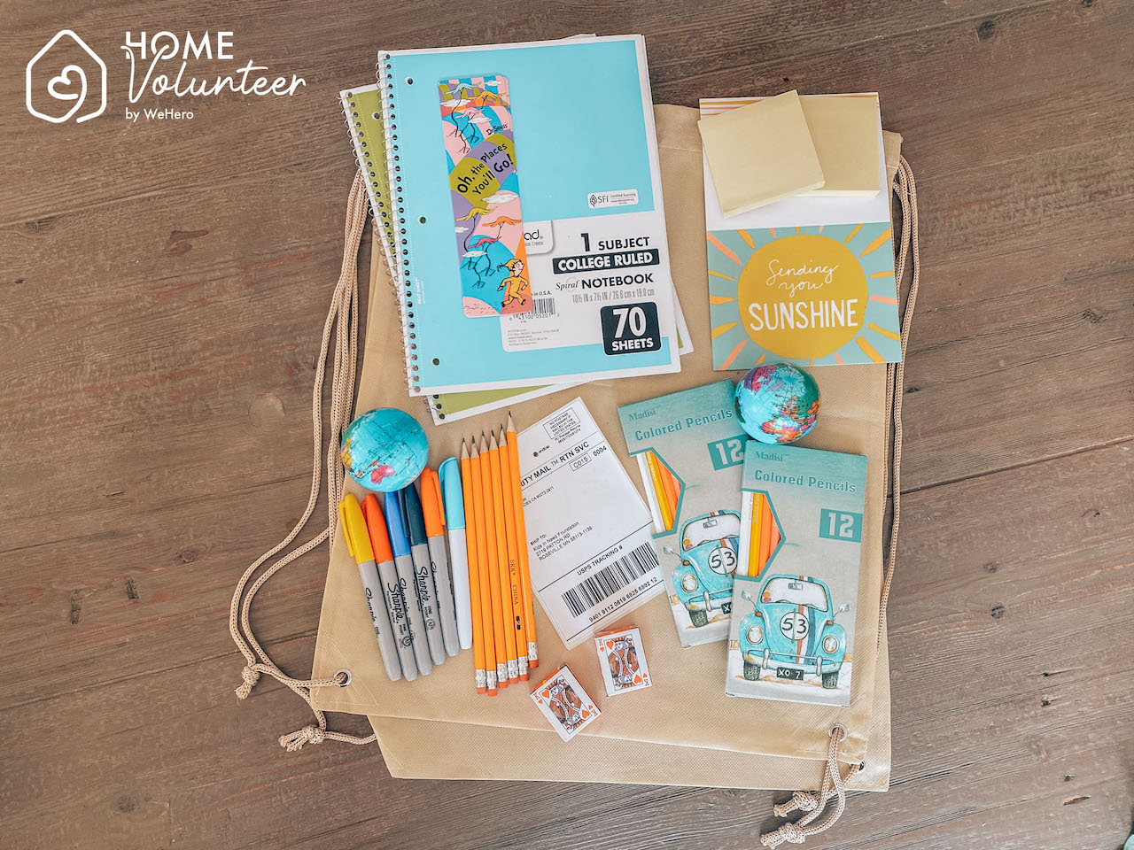 Home Volunteer Education Access Kit